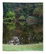 Walden Pond 1 Fleece Blanket
