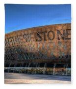 Wales Millenium Centre 3 Fleece Blanket