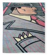 Wall Art Hustler Fleece Blanket