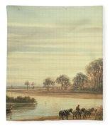 Walton On Thames Fleece Blanket