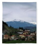 Wandering In Tuscany Fleece Blanket