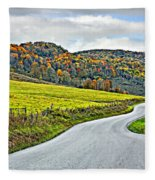 Wandering In West Virginia Fleece Blanket