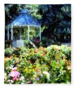 War Memorial Rose Garden 1  Fleece Blanket