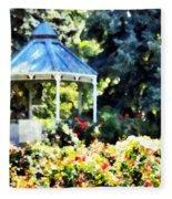 War Memorial Rose Garden 2  Fleece Blanket