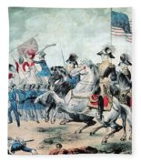 War Of 1812 Battle Of New Orleans 1815 Fleece Blanket