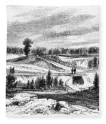 War Of 1812: Bladensburg Fleece Blanket