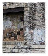 Warehouse Grafitti 2 Fleece Blanket