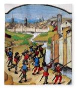 Warfare: Siege Of Arras Fleece Blanket