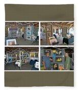 Warren Art In The Park Fleece Blanket