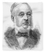 Warren De La Rue (1815-1889) Fleece Blanket