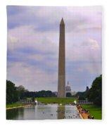 Washington - The Gathering Storm Fleece Blanket