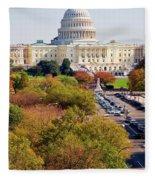 Washington2 Fleece Blanket