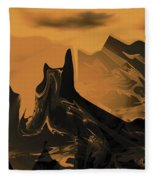 Wastelands Fleece Blanket