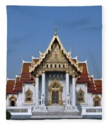 Wat Benchamabophit Ubosot Dthb1239 Fleece Blanket