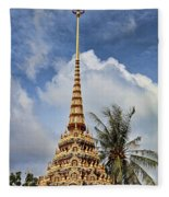 Wat Chalong 5 Fleece Blanket