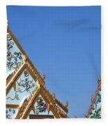Wat Chamni Hatthakan Gables Dthb934 Fleece Blanket