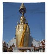 Wat Intarawiharn Phra Luang Phor Toh Standing Buddha Dthb294 Fleece Blanket