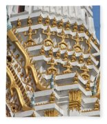 Wat Phitchaya Yatikaram Central Prang Dthb1191 Fleece Blanket