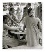 Wat Suan Dok Fleece Blanket