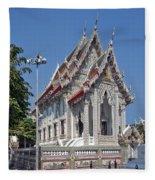 Wat Suan Phlu Ubosot Dthb1128 Fleece Blanket
