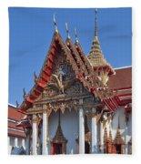 Wat Thewarat Kunchorn Wiharn Dthb292 Fleece Blanket