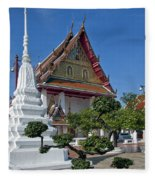 Wat Thong Nopphakhun Ubosot Dthb1169 Fleece Blanket