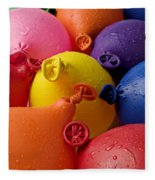 Water Balloons Fleece Blanket