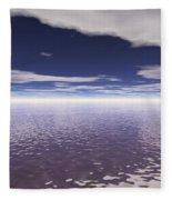 Water Horizon Fleece Blanket