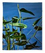 Water Lilies No.098 Fleece Blanket