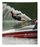 Water Skiing Magic Of Water 26 Fleece Blanket