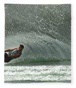 Water Skiing Magic Of Water 7 Fleece Blanket
