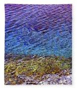 Water Surface  Fleece Blanket