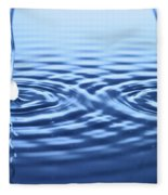Water Waves Fleece Blanket