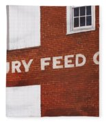 Waterbury Feed Fleece Blanket