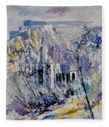 Watercolor Dinant 110172 Fleece Blanket