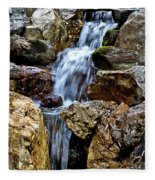 Waterfall 2 Fleece Blanket