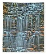 Waterfall Highights Fleece Blanket