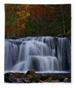 Waterfall Svitan Fleece Blanket