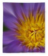 Waterlily Zoom Fleece Blanket