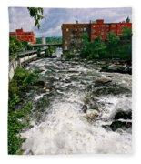 Waterpower Fleece Blanket
