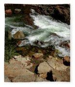 Waters Edge Glen Alpine Creek Fleece Blanket
