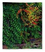 Watershed Park Foliage Fleece Blanket