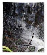 Watersplash In Sunlight Fleece Blanket