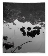 Watery Reflections Fleece Blanket