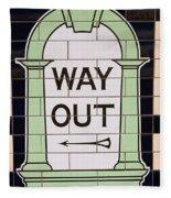 Way Out Fleece Blanket