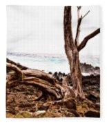 Weathered Beauty Fleece Blanket
