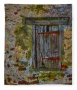 Weathered Vibrancy Fleece Blanket