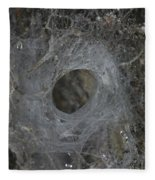 Web Of A Funnel-web Spider Fleece Blanket