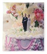 Wedding Cake Fleece Blanket