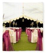 Wedding Venue Fleece Blanket